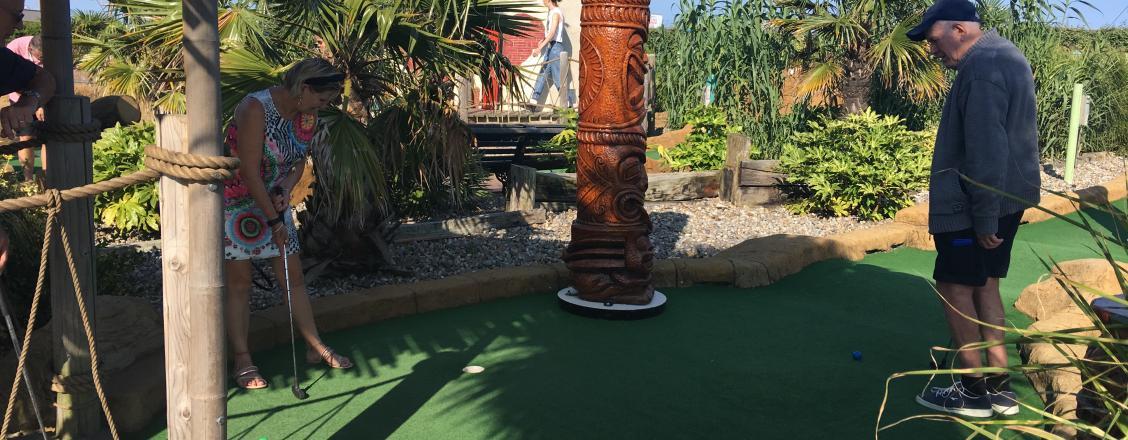 Adventure Golf Island Opening Times